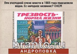 Вспомни СССР ответы: уровень 288
