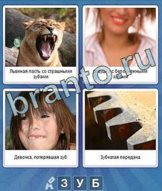 Ответы на игру Что за слово из 3 букв: львица открыла пасть, девушка чистит зубы, девочка, шестерёнка