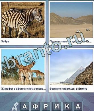 Какое слово загадано на 182 уровне: зебра, в пустыне едут машины, жирафы, пирамида