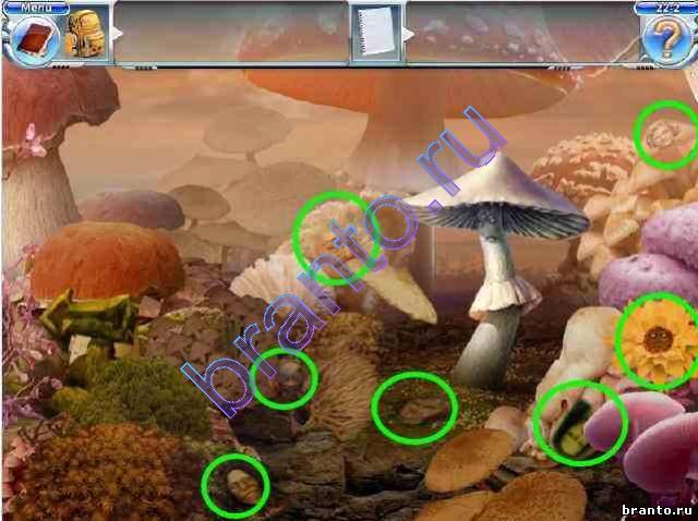 22-3. Собрать съедобные грибы для супа.