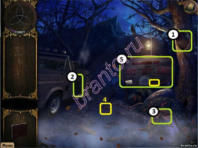 Прохождение игры Тайные расследования Тайна туманного озера в картинках