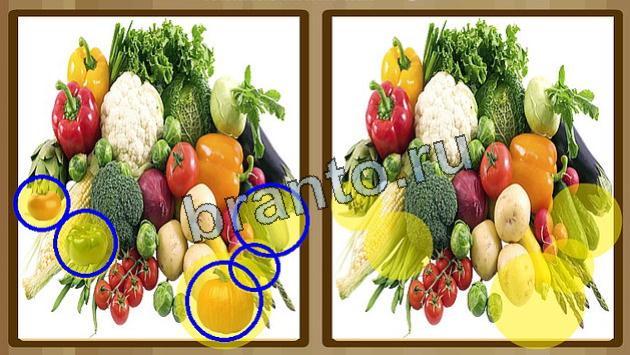 Ответы найдите отличия на двух картинках в контакте