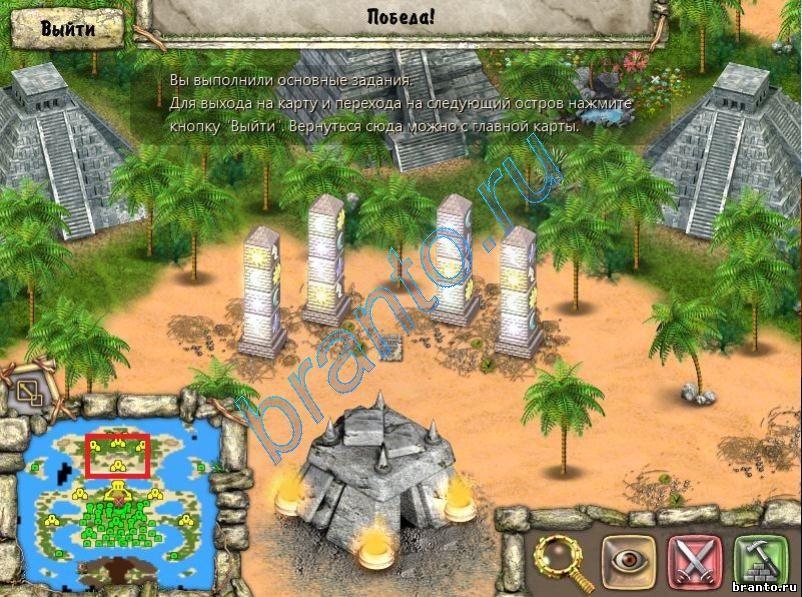 Прохождение Игры Племя Тотема Остров Поклонения