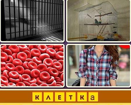 Четыре картинки одно слово в одноклассниках