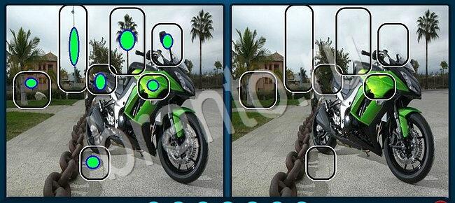 Найди отличия ответ картинка велосипед